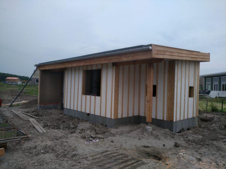 Bouwproject gastenverblijf Almere